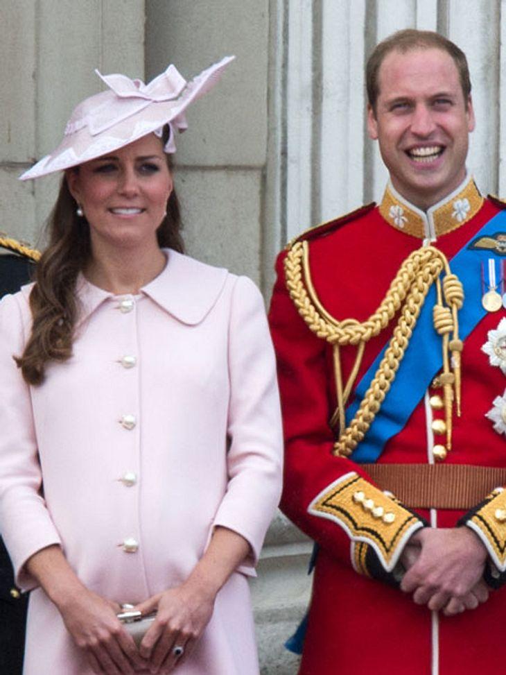 Kate und William werden bald Eltern