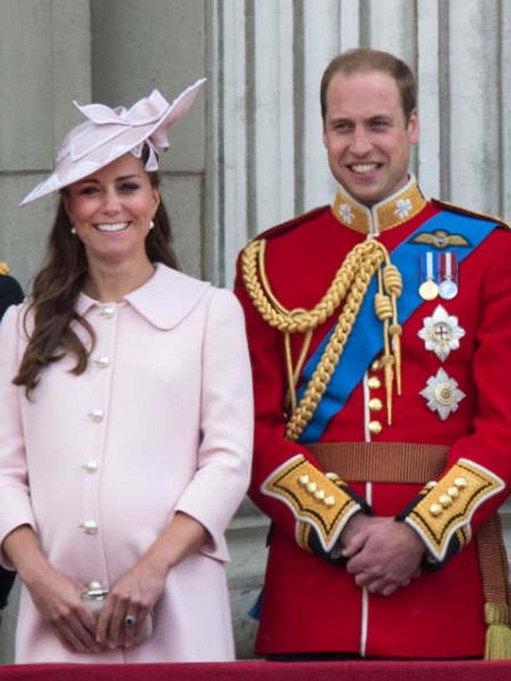 William weicht Kate nicht von der Seite