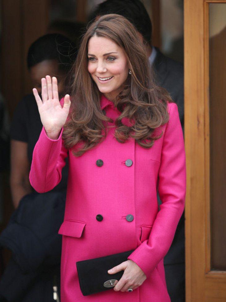 Herzogin Kate verabschiedet sich in die Babypause