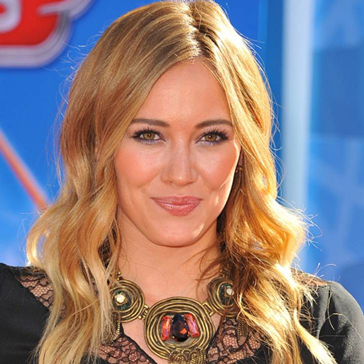 """Hilary Duff bei """"Two And A Half Men"""""""