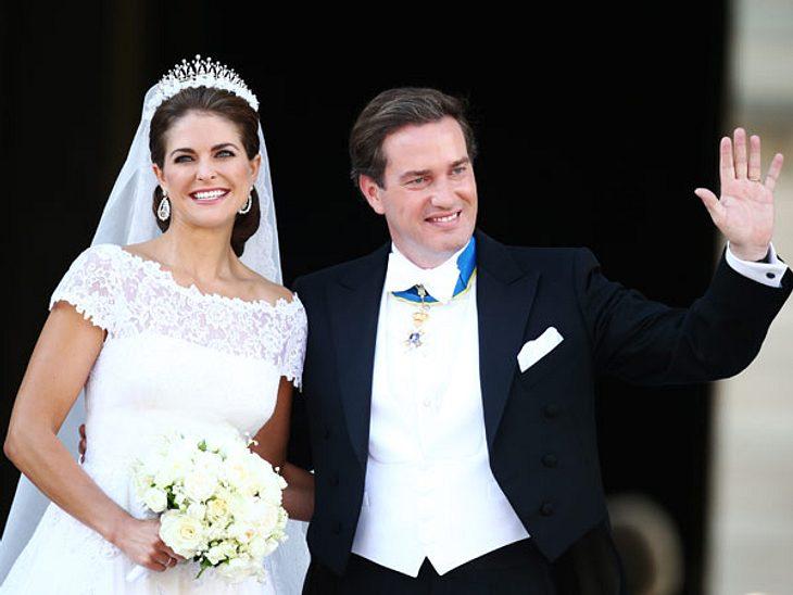 Prinzessin Madeleine und Christopher O'Neil sind jetzt verheiratet