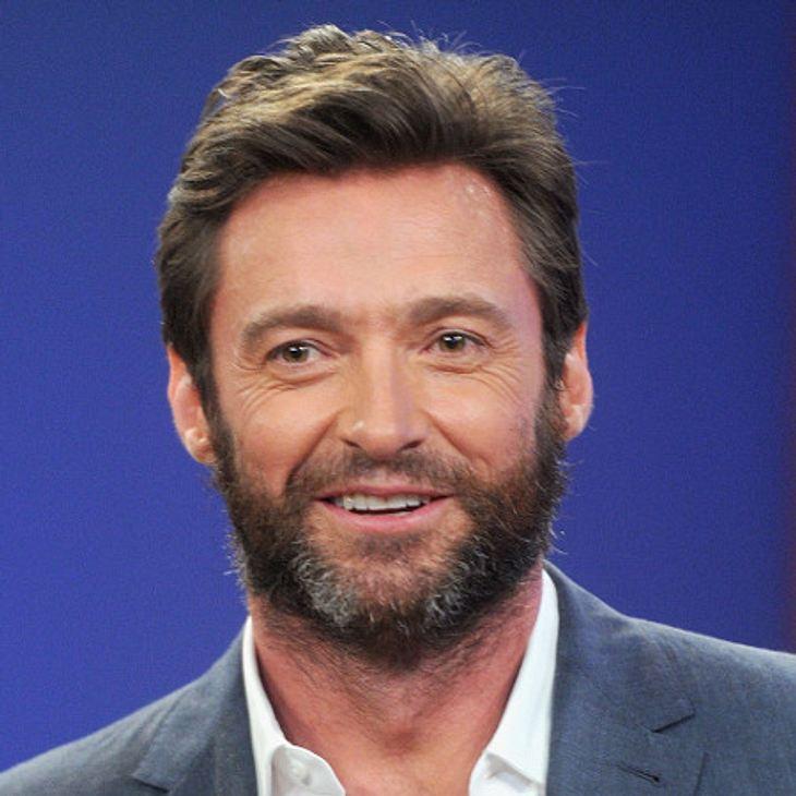 """Hugh Jackman konnte seinen Sohn offenbar noch nicht als """"Wolverine"""" überzeugen"""