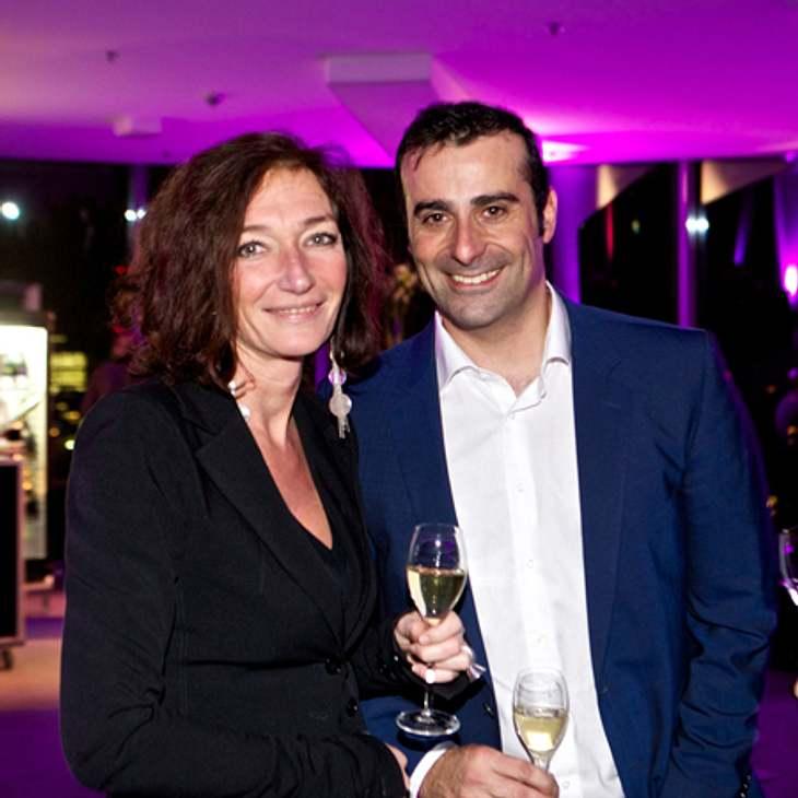 Sabine Stolzmann (Managing Partner MEC), Evangelos Botinos (Verlagsbüroleiter West Bauer Advertising KG
