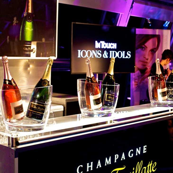 Neben Champagner gab es auch leckere Fruchtcocktails