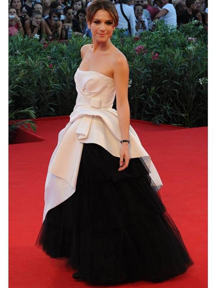 Die italienische Schauspielerin Isabella Ragonese führte in diesem Jahr die Schirmherrschaft über das 67. Filmfestival in Venedig.