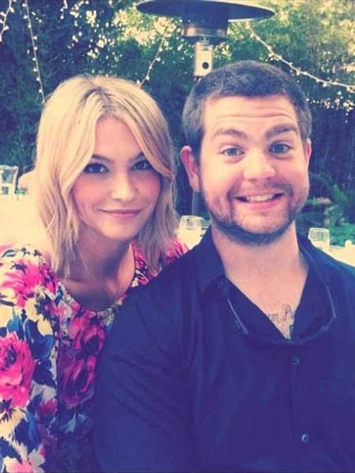 Jack Osbourne und seine Verlobte kommen aus dem Strahlen nicht mehr raus