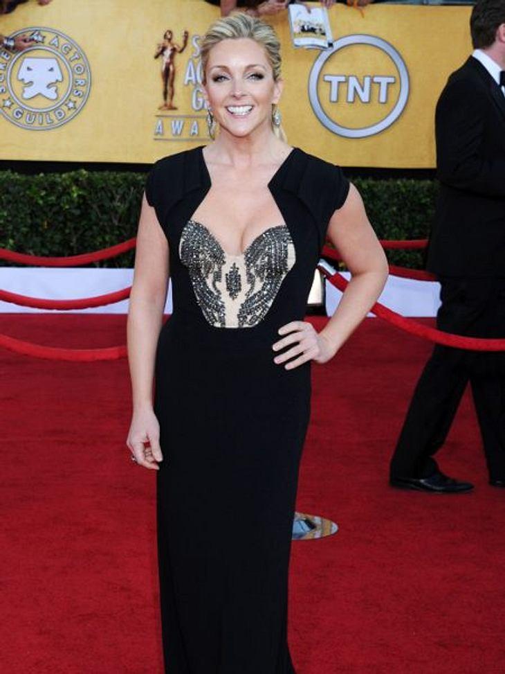 """Zwei Stars, ein Kleid: Diese Stars tragen die gleichen Klamotten!Der Look von Jane Krakowski: Die """"30 Rock""""-Schauspielerin sieht einfach wunderschön aus in ihrer """"Antonio Berardi""""-Robe. Es geht aber auch anders..."""
