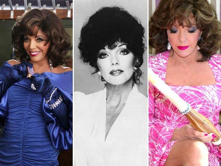 Joan Collins: Was eine Diva in der Handtasche haben sollte...Die Jahrzehnte konnten ihr kaum etwas anhaben: Joan Collins verkörpert wie kaum eine andere das Idealbild einer Diva. Dabei hat Joan Collins (78) sich ihre Jugendlichkeit stets be
