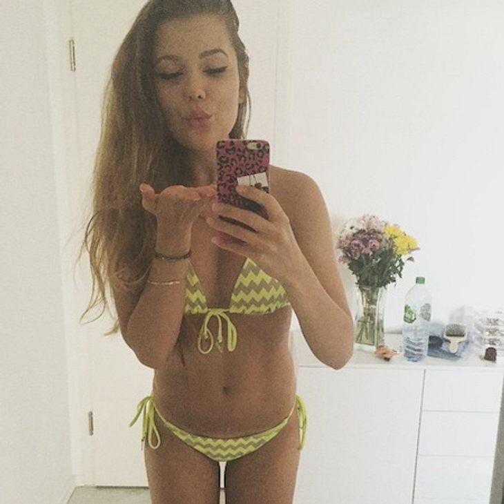 Joelina Drews freut sich über den Sommer