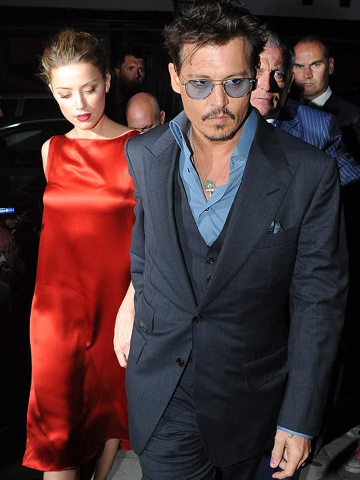Johnny Depp erweist sich als sehr tolerant.