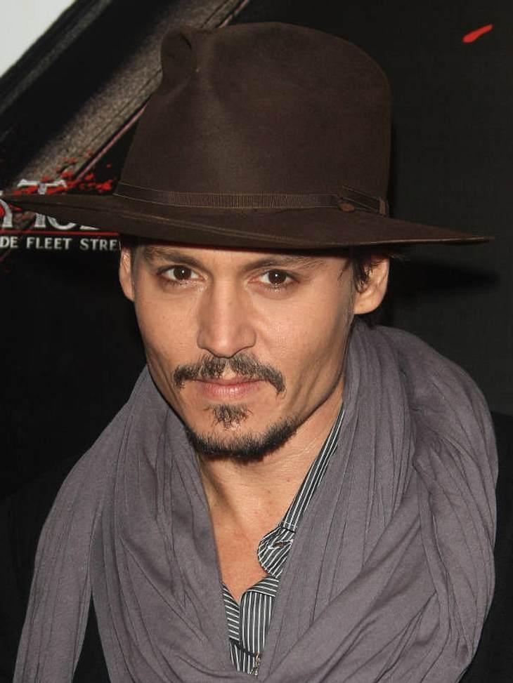 Es ist Johnny Depp (51).