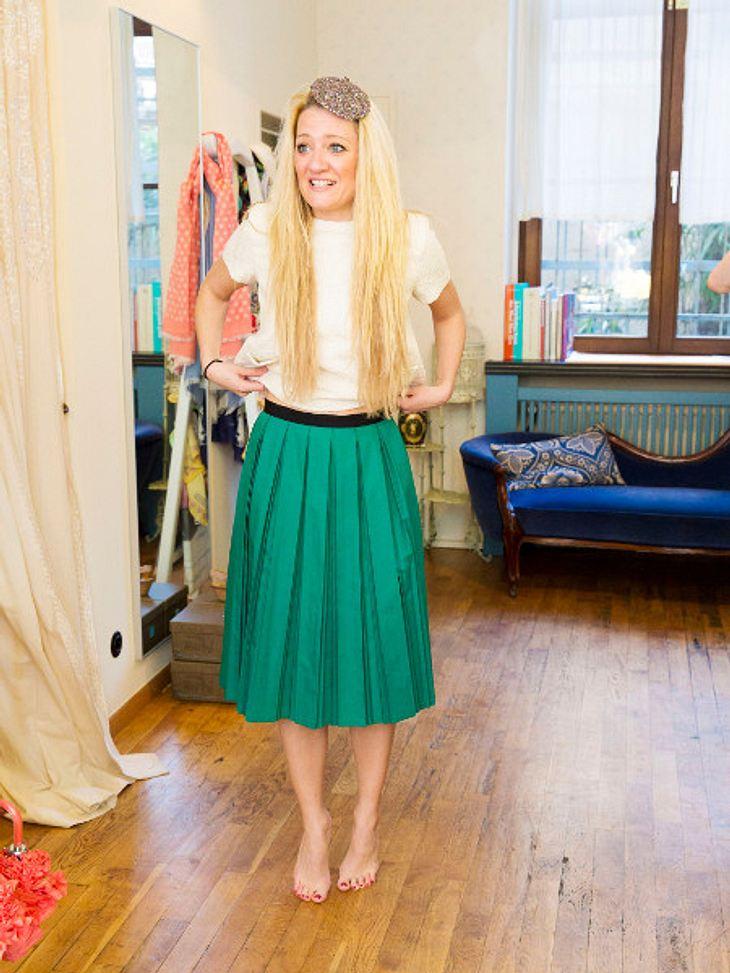 """Juliette Schoppmann zeigt sich bei """"Promi Shopping Queen"""" von ihrer sexy Seite"""
