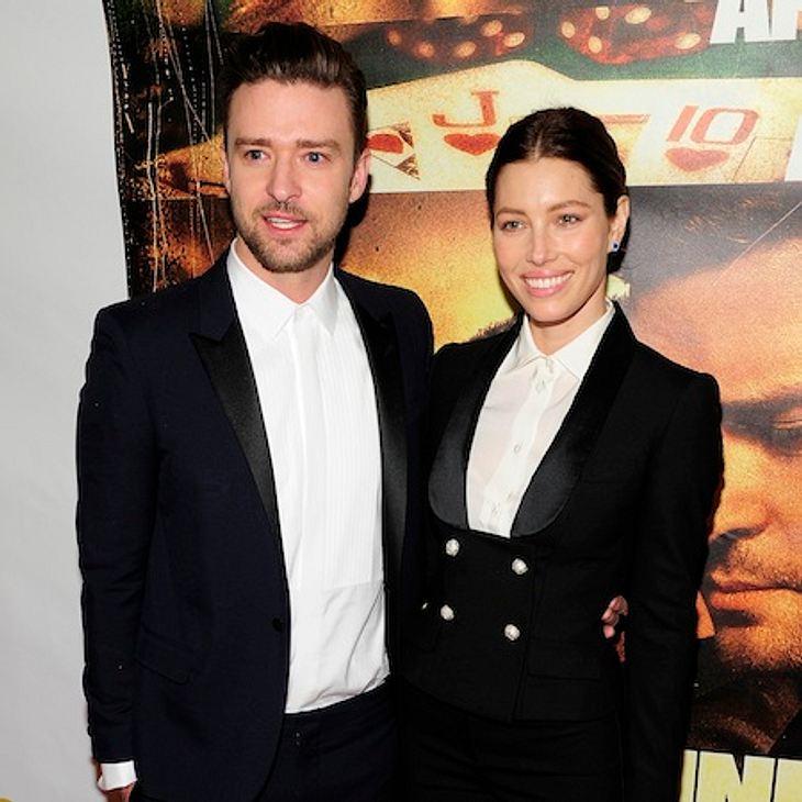 Justin Timberlake und Jessica Biel freuen sich über die Geburt ihres ersten Kindes