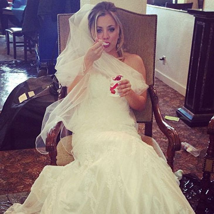 Kaley Cuoco: Hat die Schauspielerin etwa schon geheiratet?