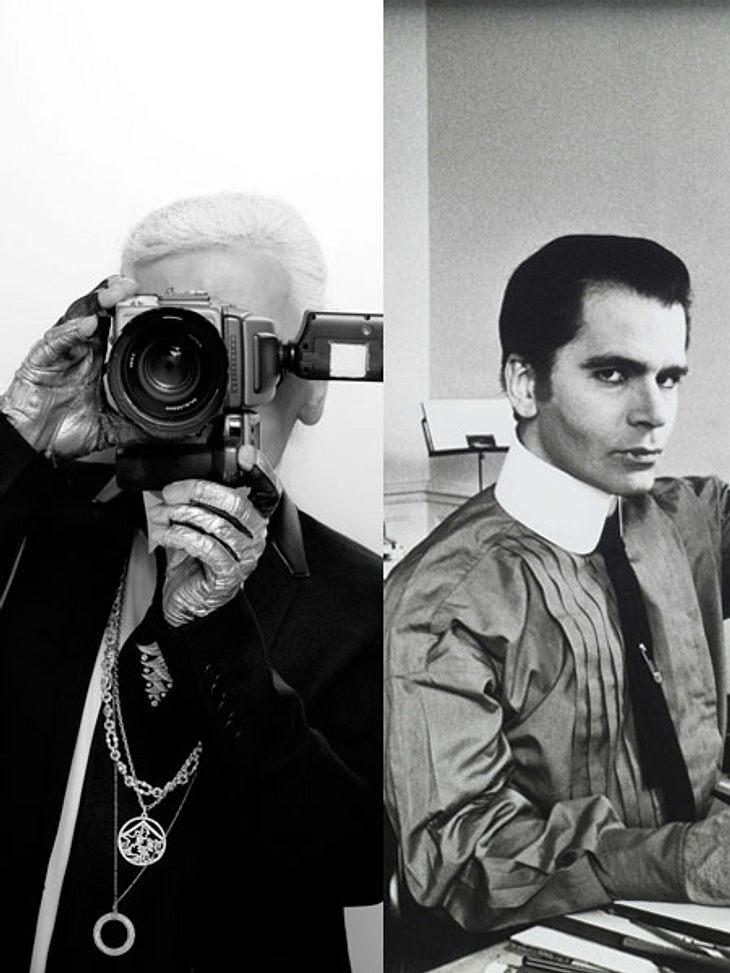 So kennen ihn die wenigsten: Karl Lagerfeld in jungen Jahren