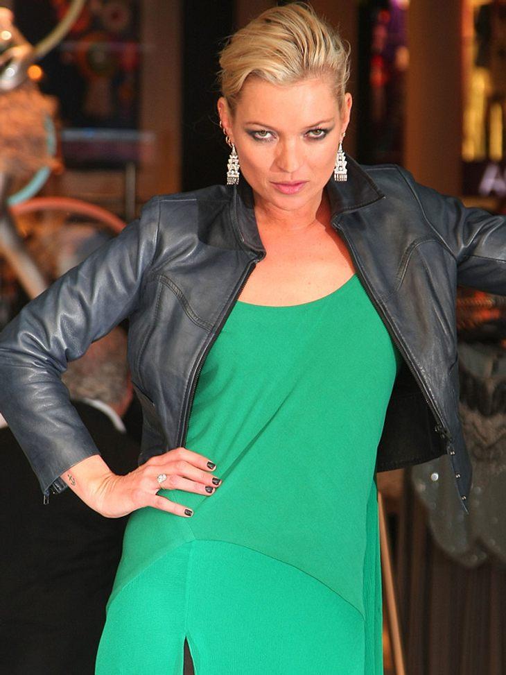 Übertreibt es Kate Moss mit ihrer Leidenschaft für Pelze?