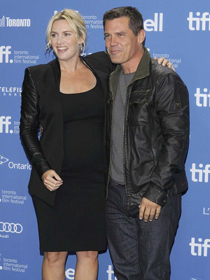 Kate Winslet mit Filmpartner Josh Brolin