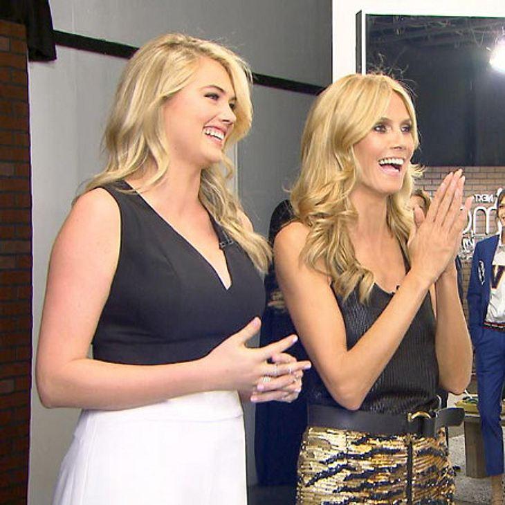 Heidi holt sich Unterstützung von Model Kate Upton