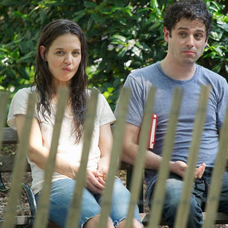 "Katie Holmes & Luke Kirby am Set von ""Mania Days"""