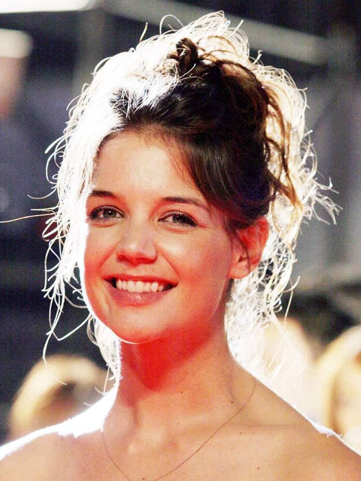 Doppelgänger: Die doppelten VIP-LottchenUnd - Überraschung! - sieht Katie Holmes in jungen Jahren ganz schön ähnlich.