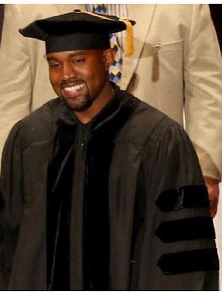 Kanye West bei der Verleihung der School of the Art Institute Chicago