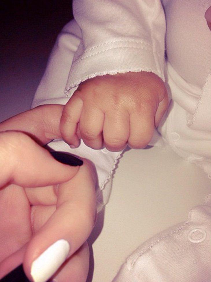 Kendall Jenner kuschelt mit North West
