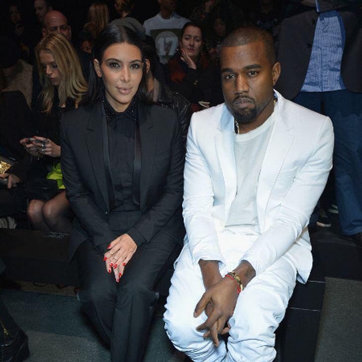 Kim Kardashian findet den Vorschlag von Kayne nicht so gut.