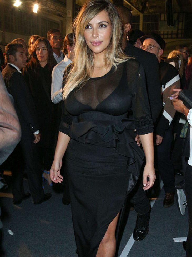 Kim Kardashian zeigt ihren Body