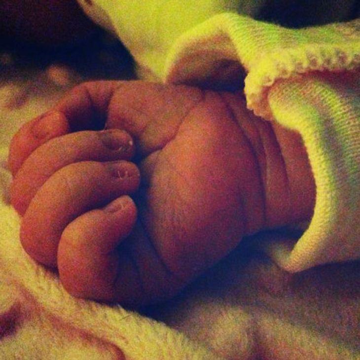 Kim Gloss postete ein süßes Bild ihrer Tochter Amelia