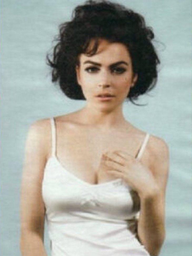 Lindsay Lohan, die gerade Liz Taylor verkörpert, wird der Erpressung beschuldigt