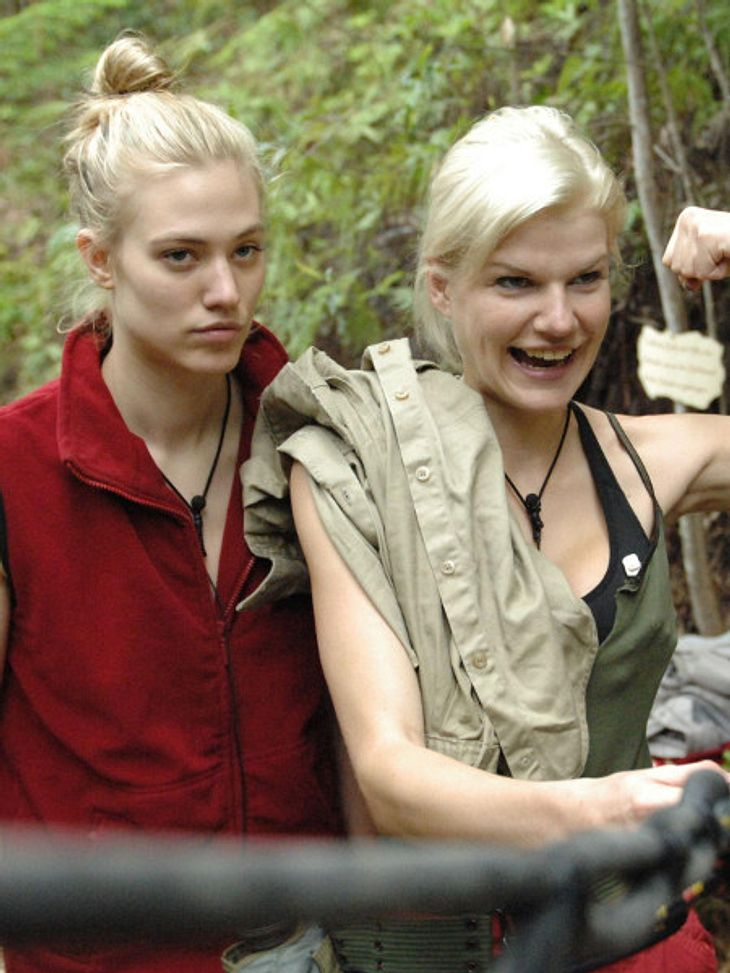 Melanie und Larissa gerieten bei der Schatzsuche aneinander