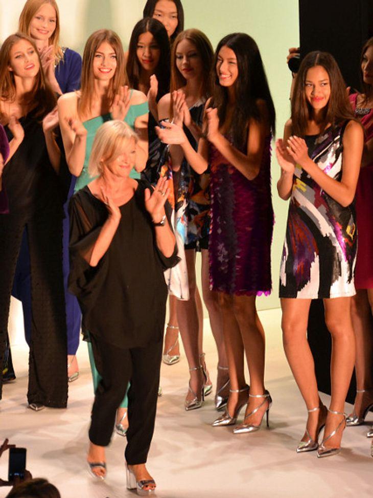 Laurèl-Chefdesigerin Elisabeth Schwaiger wurde von ihren Models gefeiert