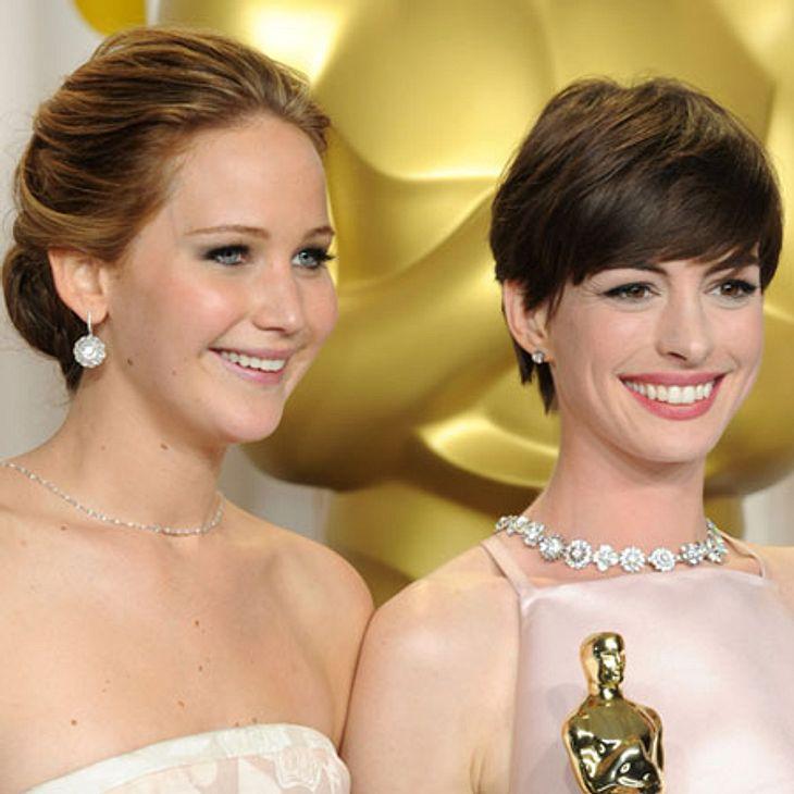 Gegensätzlicher können zwei Hollywood Schauspielerinnen kaum sein...