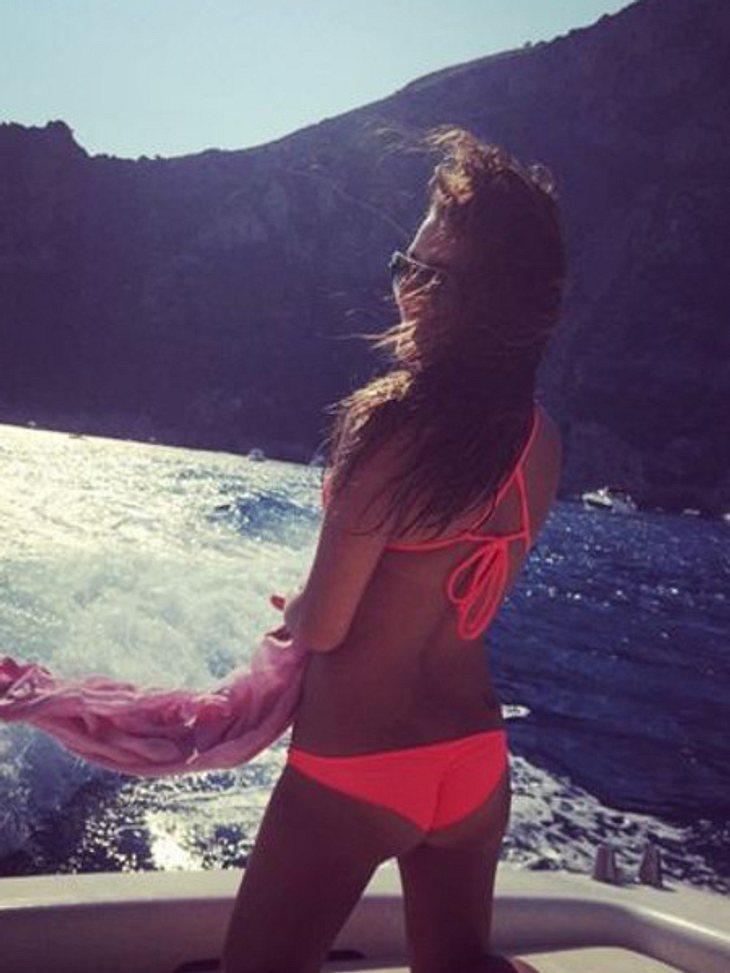 Lea Michele zeigt sich sexy im Bikini