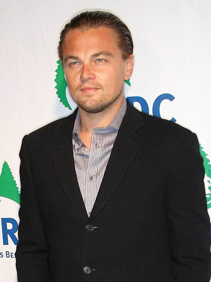 """Hollywoods sexy JunggesellenLeonardo DiCaprio (36) war schon ein Kinderstar, spielte in vielen richtig guten Filmen mit und ist mit """"Titanic"""" schließlich zum richtigen Star geworden. Geheiratet hat er bisher nicht - vielleicht war"""