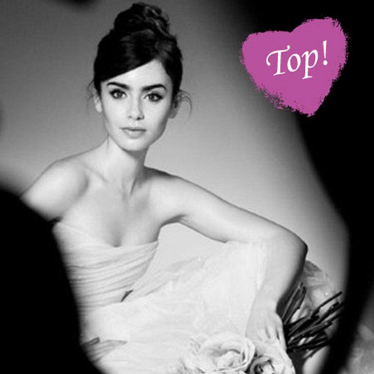 """Lily Collins präsentiert die """"French Ballerine""""-Kollektion von Lancôme"""