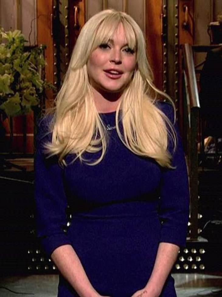 Lindsay Lohan will bis zum 29. März brav bleiben