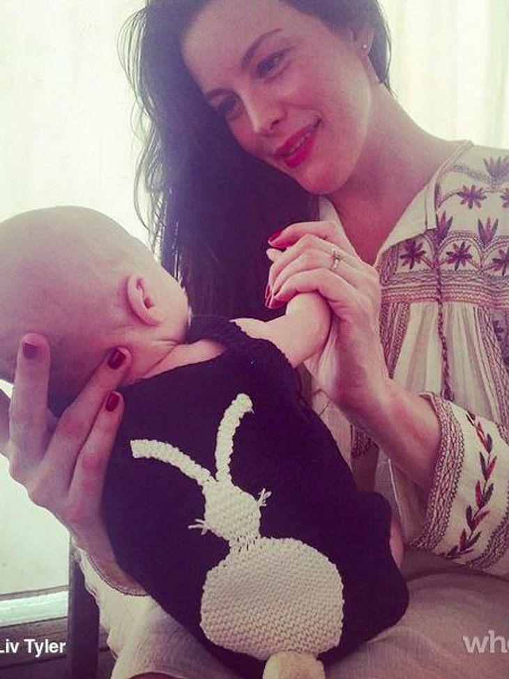 Liv Tyler mit Baby Sailor Gene