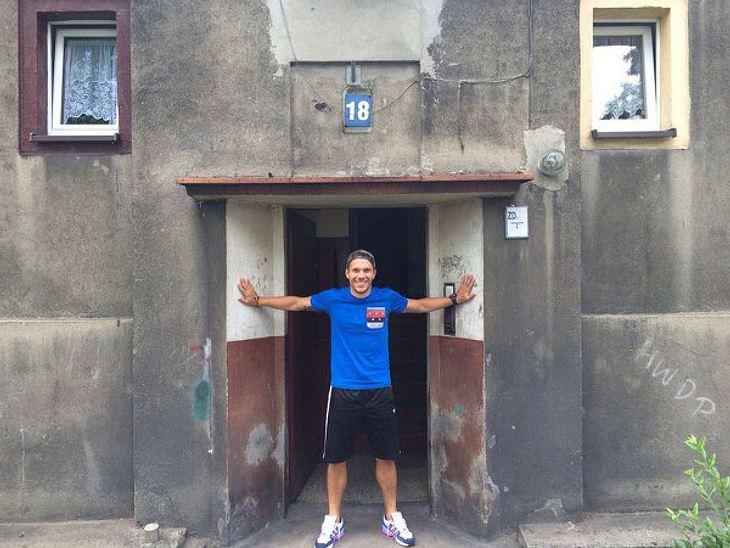 Privater Einblick: Lukas Podolski zeigt sein Elternhaus
