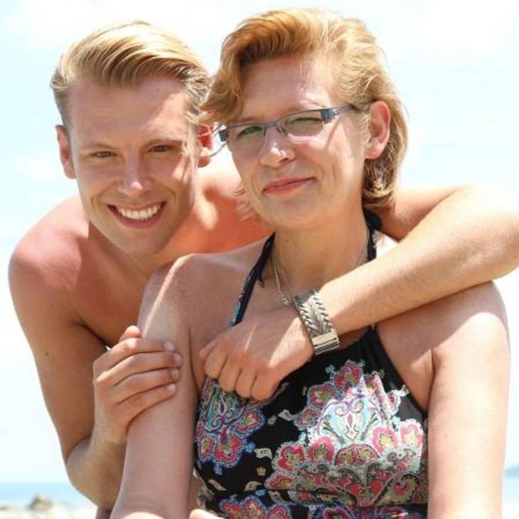 """Wenn's brenzlig wird flüchtet """"Mama Mia""""-Kandidat Tom zu seiner Mutter Doro."""