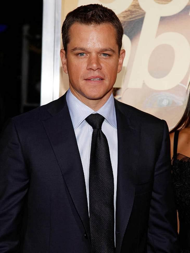 """Die besten Star-Zitate""""Mein persönliches Motto? Sei kein Trottel!"""" - Matt Damon (41)"""