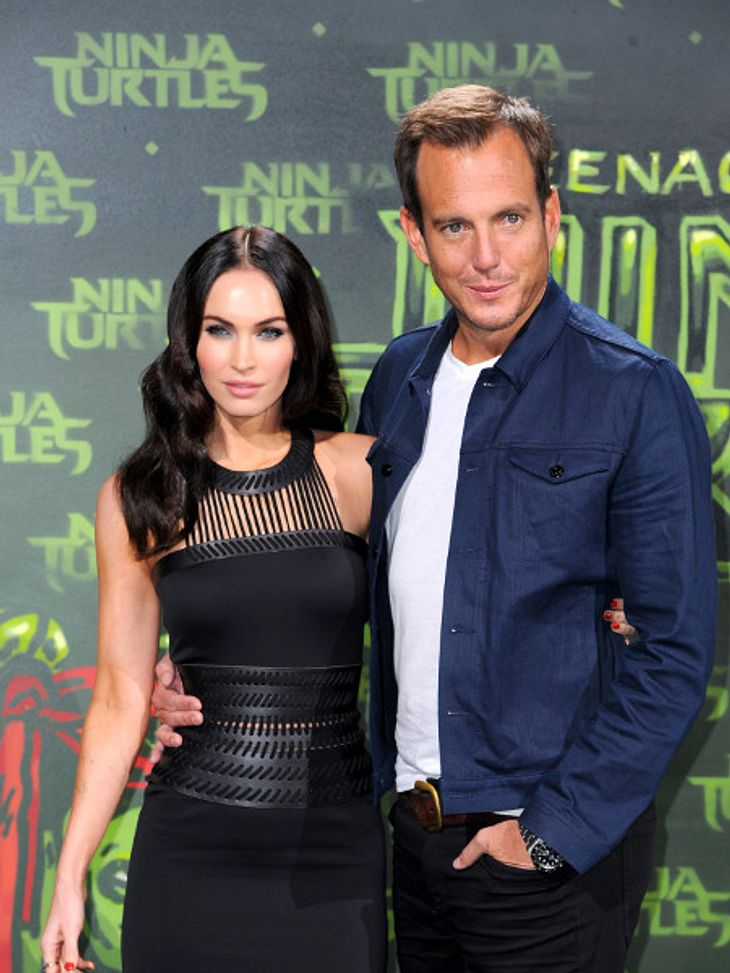 Megan Fox und WIll Arnett bei der Nina Turtels-Premiere