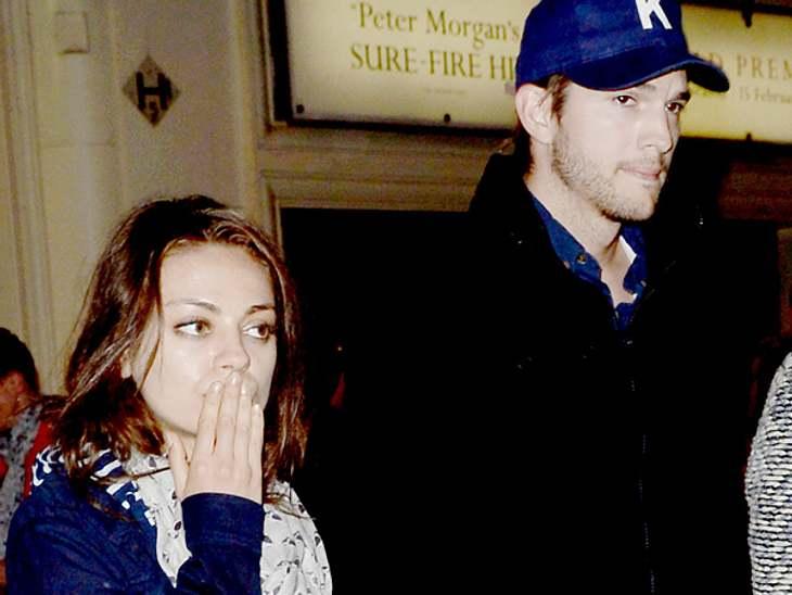 Mila Kunis und Ashton Kutcher sollen verlobt sein