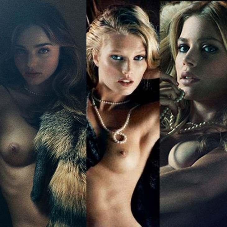 Miranda Kerr, Toni Garrn und Doutzen Kroes: So sexy wie noch nie