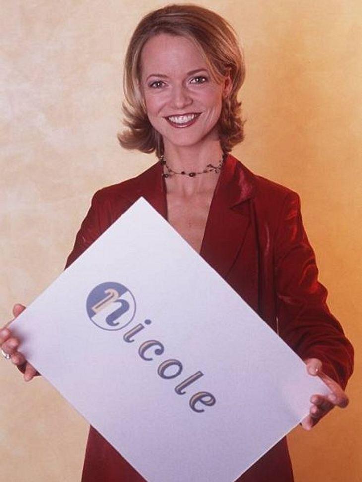 """Die Talkshow-Moderatoren der 90erNicole Noevers päsentierte ab 1998 """"Die Entscheidung am Nachmittag"""". Sie glänze mit besonders abgefahrenen Gästen. Leider wurde """"Nicole"""" 2001 schon wieder abgesetzt. Schon knapp ein jahr"""