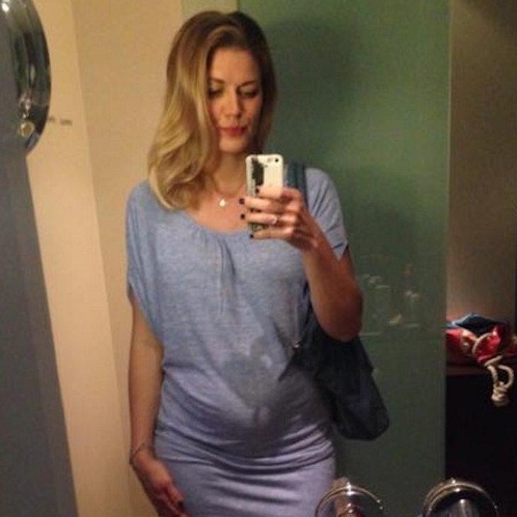 Nina Bott freut sich auf ihren zweiten Nachwuchs