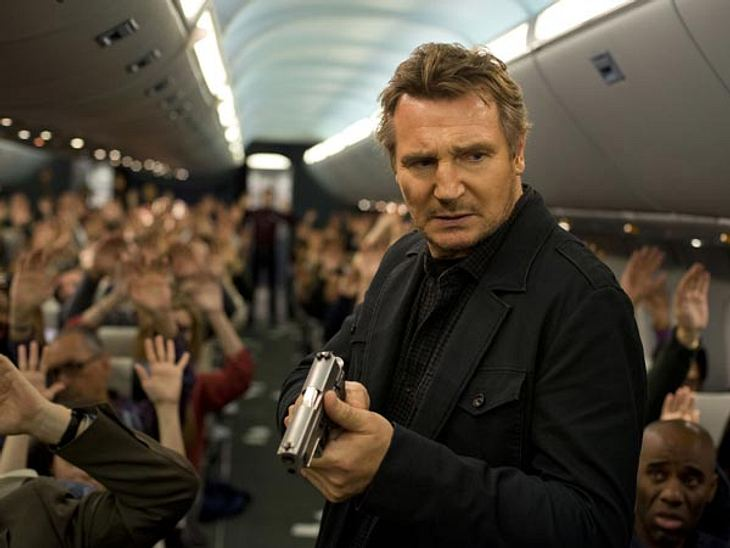 """Kino-Tipp: Ein Flugzeug wird entführt - was für ein Horror! Was Liam Neeson in """"Non-Stop"""" dagegen tun will:"""