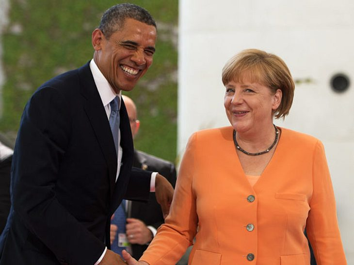 Barack Obama besucht Berlin - Das Merkel-DebakelHeute schien Angela Merkel bei ihrem Zusammentreffen mit Barack Obama sichtlich zufrieden. Wie ein kleines Schulmädchen lächelte sie dem beliebten Präsidenten verschmitzt zu. Doch das war nich