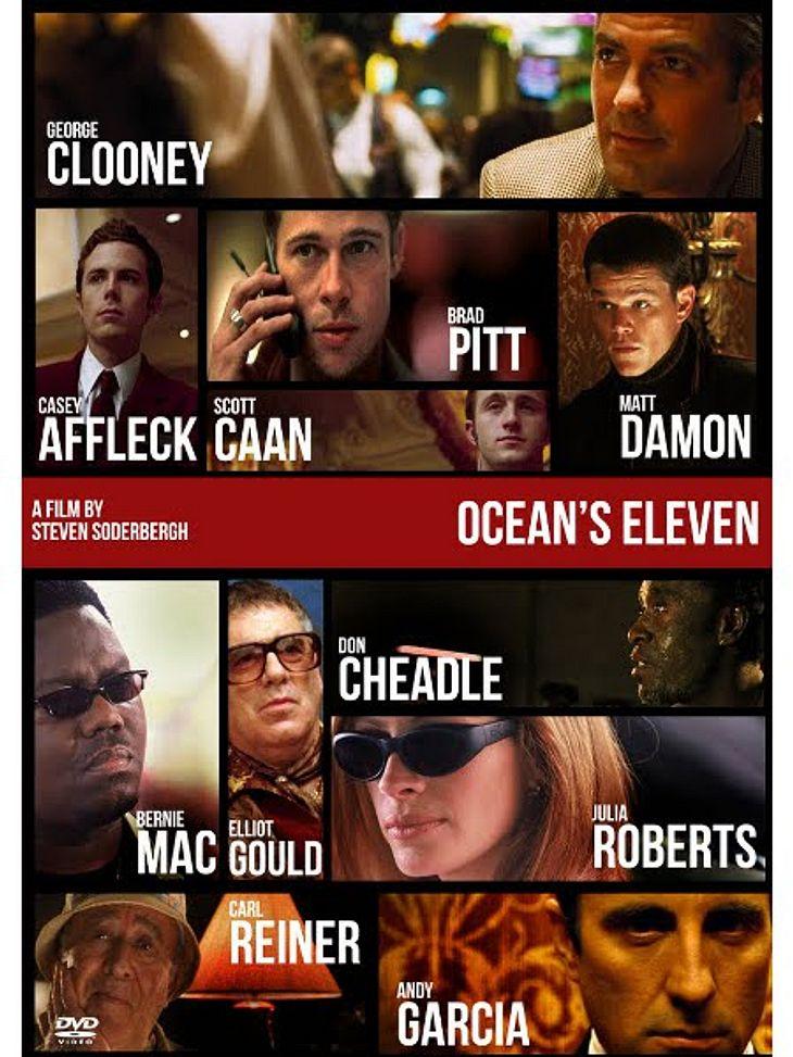 """Achtung, Film-Fortsetzung!""""Ocean's Eleven"""" ist ein Remake des 60er-Jahre-Films """"Frankie und seine Spießgesellen"""" und rockte die Kinos überall auf der Welt. Die Top-Cast konnte aber im zweiten Teil nicht mehr ganz so punk"""