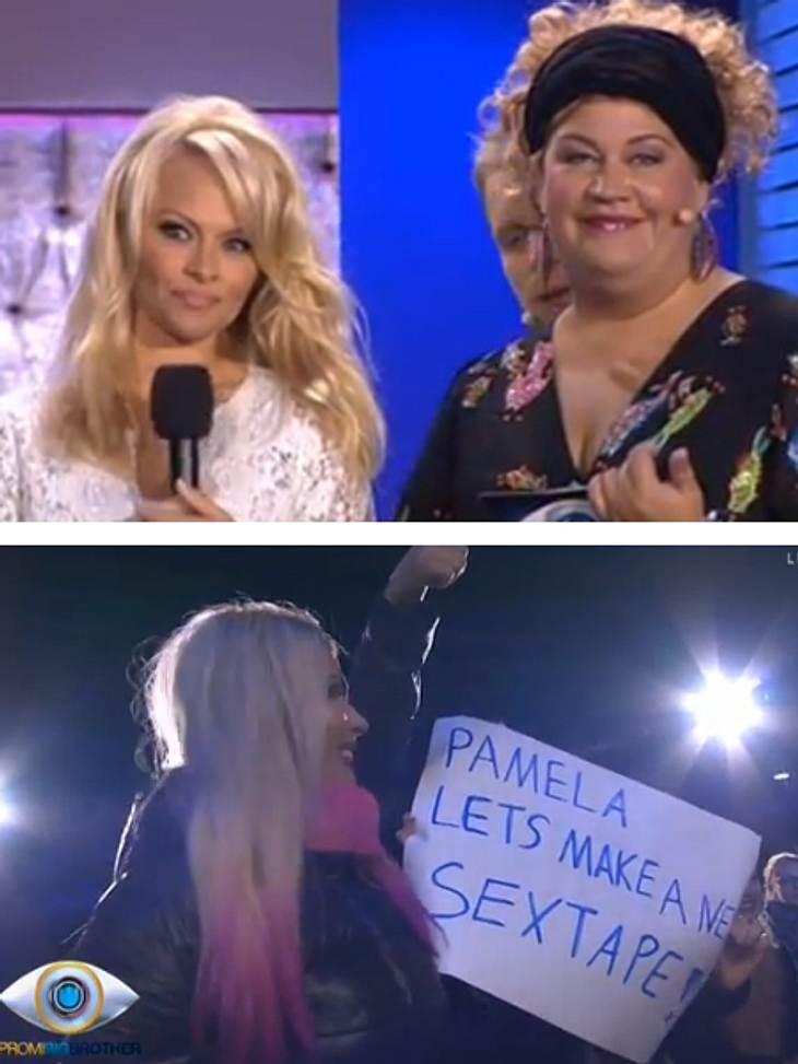 Pamela Anderson reagiert gelassen auf das Palakt